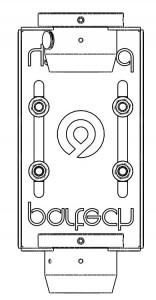 Line Diagram on Sensor Bracket