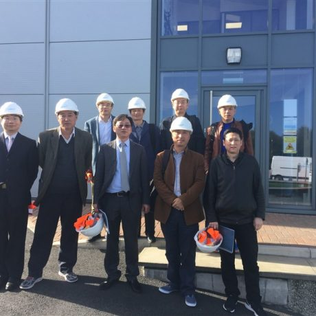 Chinese Customers Visit Partech