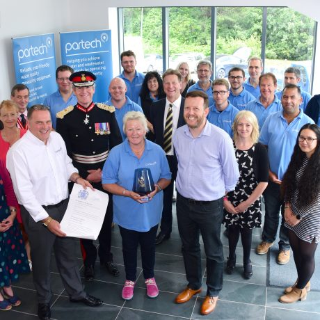 Lord Lieutenant Queens Award