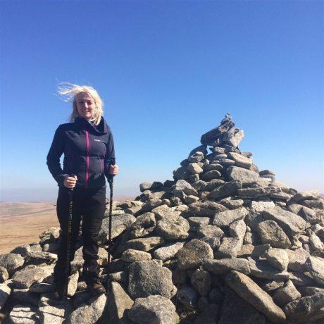 Yvette's Three Peaks Challenge